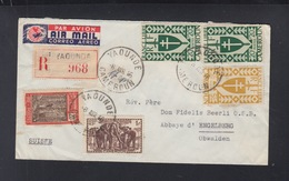 Cameroun Lettre 1946 Yaounde Pour La Suisse - Kamerun (1915-1959)