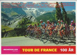 Tour De France 100 Years. Danish Card.   # 07659 - Cycling