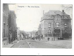 Trazegnies  ( M 4093 )  Des Travaux Dans La Rue J.Destrée - Courcelles