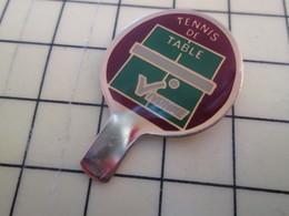 2417 : Pin's Pins / RARE & BELLE QUALITE / THEME : SPORTS / CLUB VIVONNE RAQUETTE TENNIS DE TABLE PING PONG - Table Tennis