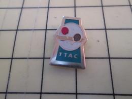 2417 : Pin's Pins / RARE & BELLE QUALITE / THEME : SPORTS / CLUB TTAC TENNIS DE TABLE PING PONG - Table Tennis