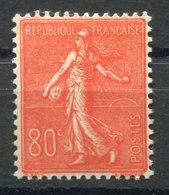 RC 9069 FRANCE N° 203 - 80c ROUGE TYPE SEMEUSE  COTE 30€ NEUF * TB - Frankreich