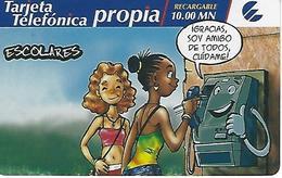 ETECSA - Rechargable For National And Local Callings - 10.00 MN - Cuba - Cuba