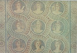 Rhodes - Greece.   Mosaic   The Grand Marsters Palace.  # 07670 - Greece