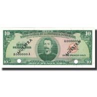 Billet, Dominican Republic, 10 Pesos Oro, Undated (1964-74), KM:101s2, NEUF - Dominicana