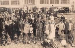 CARTE PHOTO     CAYEUX Sur MER  (n°43)  1927 CASINO - Cayeux Sur Mer