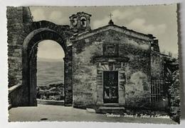 VOLTERRA PORTA S.FELICE E CHIESETTA   NV FG - Pisa