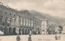 U.79.  AOSTA - Il Municipio - Ediz. Brunner - Aosta
