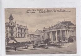 ORADEA MARE. TEEATRU REGINA MARIA. NAGYVARAD. SIZIGLIGETI SZNHAZ AZ EMKE KAVEHAZZAL. CIRCA 1900's.-BLEUP - Romania