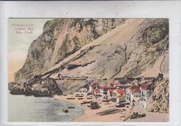 GIBRALTAR. CATALAN BAY FROM NORTH. V B CUMBO. CIRCA 1910's.-BLEUP - Gibraltar