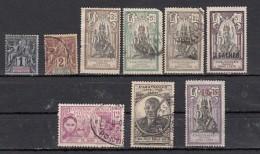Inde  Lot De 9 Timbres - Inde (1892-1954)