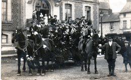 Cpa Photo De Routot - Souvenir De La Cavalcade De Routot Le 22 Février 1928 - - Routot