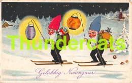 CPA ILLUSTRATEUR NAIN LUTIN GNOME DWARF ARTIST CARD FRITZ BAUMGARTEN ZWERGE - Contes, Fables & Légendes