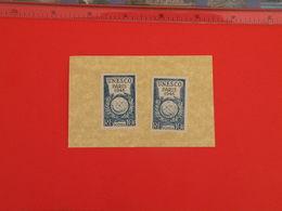 Lot 2 Timbres Neuf 1946 >   N°771 - Y&T - U.N.E.S.C.O Paris 1946 - Coté 0,60€ - France