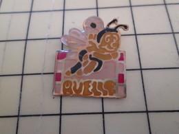 615e : Pin's Pins / RARE & BELLE QUALITE / THEME : SPORTS / RUELLE ABEILLE  CLUB HAND-BALL - Handball