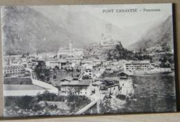 PONT CANAVESE  PANORAMA VIAGGIATA 1908 - Altre Città