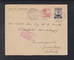 Niederländisch-Indien Luftpostbrief 1929 Meester - Indes Néerlandaises