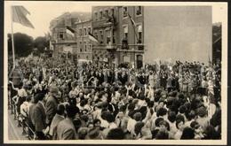 Photo Postcard / ROYALTY / Belgium / Belgique / Roi Baudouin / Koning Boudewijn / Huy / 1956 - Hoei