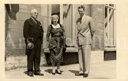 Photo Postcard / ROYALTY / Belgium / Belgique / Roi Baudouin / Koning Boudewijn / President Harry S. Truman / 1956 - Hommes Politiques & Militaires