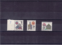 TCHECOSLOVAQUIE 1979 Série Courante Yvert 1831a, 1833a, 1920a NEUF** MNH - Tchécoslovaquie