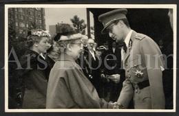 Photo Postcard / ROYALTY / Belgium / Belgique / Roi Baudouin / Koning Boudewijn / Tir National / 1956 - Schaarbeek - Schaerbeek