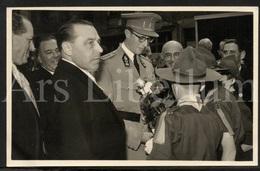 Photo Postcard / ROYALTY / Belgium / Belgique / Roi Baudouin / Koning Boudewijn / Jeu De Balle / 1956 - Marktpleinen, Pleinen