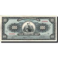 Billet, Pérou, 100 Soles De Oro, 1965, 1965-08-20, KM:90a, SUP - Pérou
