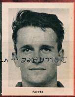 FOOTBALL : PHOTO, JACQUES FAIVRE, STADE RENNAIS, RENNES, COUPURE REVUE (1961) - Voetbal