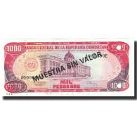 Billet, Dominican Republic, 1000 Pesos Oro, 1994, 1994, KM:138s3, NEUF - Dominicana