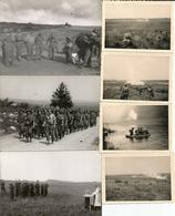 ABO Armée Belge D'Occupation En Allemagne 1948 Manoeuvres à WILLINGEN (Sauerland) 7 Photos - Militaria