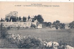 -81- Tarn Illustré - VAOUR  Le Cimetiere Et Les Ruines - Neuve Excellent état - Vaour