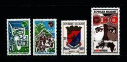 Madagascar  Nº Yvert  538/9-540-545  En Nuevo - Madagascar (1960-...)