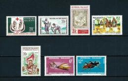 Madagascar  Nº Yvert  418/9-422/3-425-427/8  En Nuevo - Madagascar (1960-...)