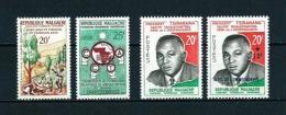 Madagascar  Nº Yvert  351/2-355/6  En Nuevo - Madagascar (1960-...)
