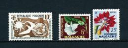Madagascar  Nº Yvert  335-336/7  En Nuevo - Madagascar (1960-...)