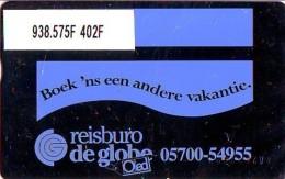 Telefoonkaart  LANDIS&GYR NEDERLAND *  RCZ.938.575F   402F * BOEK 'NS EEN ANDERE VAKANTIE  * TK * ONGEBRUIKT * MINT - Nederland