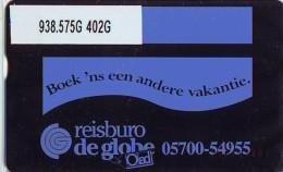 Telefoonkaart  LANDIS&GYR NEDERLAND *  RCZ.938.575G   402G * BOEK 'NS EEN ANDERE VAKANTIE  * TK * ONGEBRUIKT * MINT - Nederland