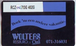 Telefoonkaart  LANDIS&GYR NEDERLAND *  RCZ.938.713G   402G * BOEK 'NS EEN ANDERE VAKANTIE  * TK * ONGEBRUIKT * MINT - Nederland
