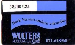 Telefoonkaart  LANDIS&GYR NEDERLAND *  RCZ.938.716G   402G * BOEK 'NS EEN ANDERE VAKANTIE  * TK * ONGEBRUIKT * MINT - Nederland