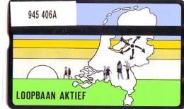 Telefoonkaart  LANDIS&GYR NEDERLAND *  RCZ.945   406a * LOOPBAAN AKTIEF  * TK * ONGEBRUIKT * MINT - Nederland