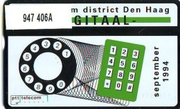 Telefoonkaart  LANDIS&GYR NEDERLAND *  RCZ.947   406a * EM Centrale Den Haag  * TK * ONGEBRUIKT * MINT - Nederland