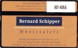Telefoonkaart  LANDIS&GYR NEDERLAND *  RCZ.951   406a * BERNARD SCHIPPER  * TK * ONGEBRUIKT * MINT - Nederland