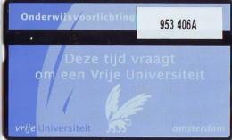 Telefoonkaart  LANDIS&GYR NEDERLAND *  RCZ.953   406a * Vrije Universiteit Amsterdam  * TK * ONGEBRUIKT * MINT - Nederland