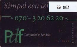 Telefoonkaart  LANDIS&GYR NEDERLAND *  RCZ.954   406a * RTF  * TK * ONGEBRUIKT * MINT - Nederland