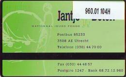 Telefoonkaart  LANDIS&GYR NEDERLAND *  RCZ.960.01   104H * Jantje Beton, Nationaal Jeugd Fonds  * TK * ONGEBRUIKT *  - Nederland