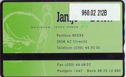 Telefoonkaart  LANDIS&GYR NEDERLAND *  RCZ.960.02  212B * Jantje Beton, Nationaal Jeugd Fonds  * TK * ONGEBRUIKT * M - Nederland