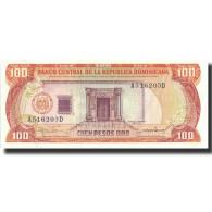 Billet, Dominican Republic, 100 Pesos Oro, 1985, 1985, KM:122b, NEUF - Dominicaine