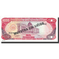 Billet, Dominican Republic, 1000 Pesos Oro, 1994, 1994, KM:138s3, NEUF - Dominicaine