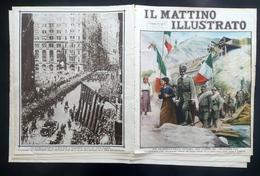 Decennale Vittoria WW1 Ponte Cordevole Il Mattino Illustrato Anno V N. 46 1928 - Books, Magazines, Comics