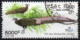 VIETNAM 2006 Used Crested Argus - Rheinardia Ocellata - Birds Pheasant Pheasants Vögel Aves - Paons